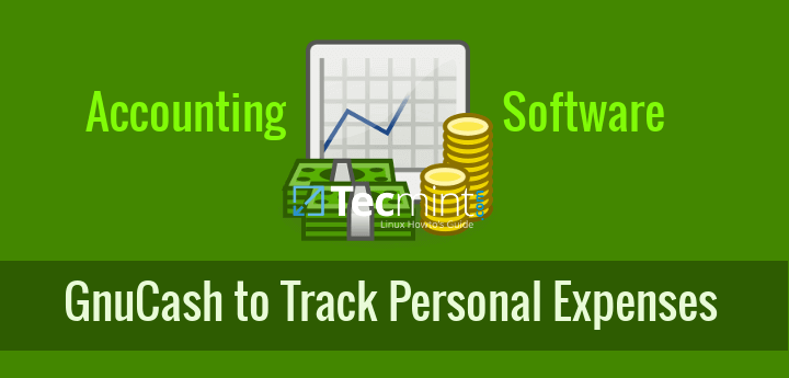 how to track business or personal expenses using gnucash accounting