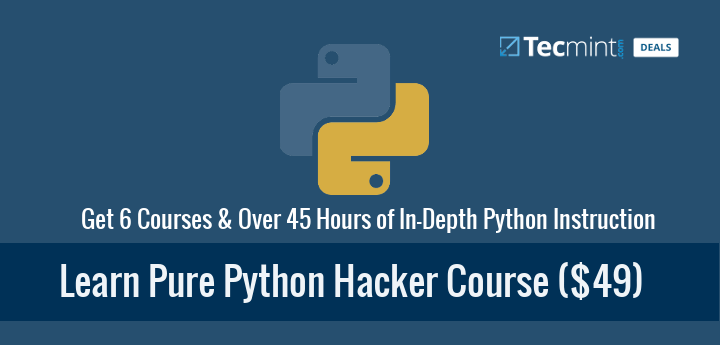 Learn Pure Python Hacker Course