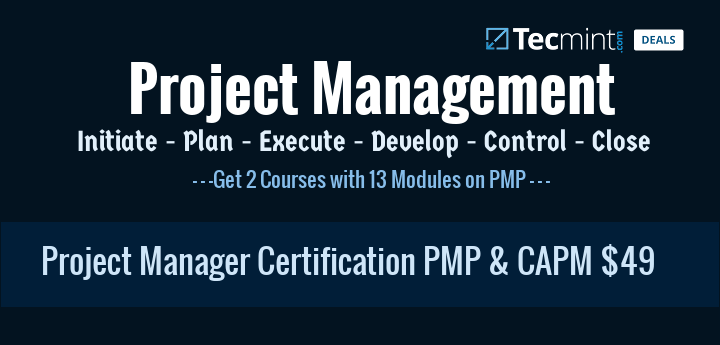 Project Management Certification PMP and CAPM