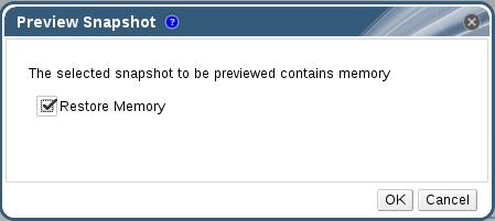 Restore Snapshot Memory