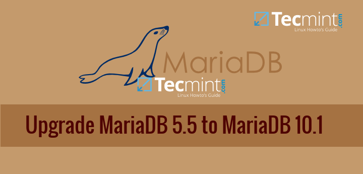 Upgrade MariaDB 5.5 to MariaDB 10.1 on CentOS 7