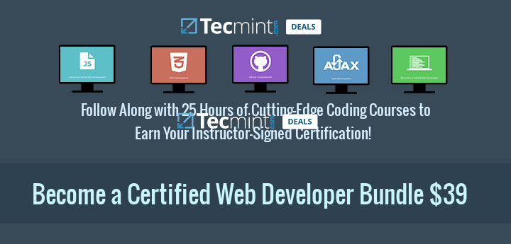 Become a Certified Web Developer Bundle