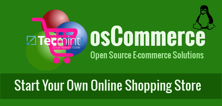 Create Online Shopping Website with osCommerce