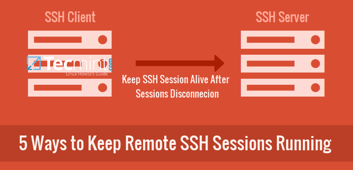 Keep SSH Sessions Running After Disconnection