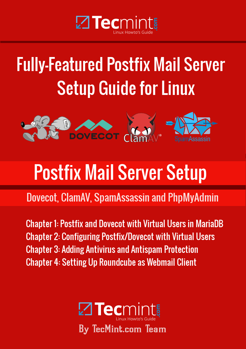Postfix Mail Server Setup in Linux Book