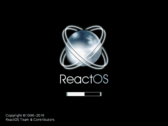 ReactOS Desktop