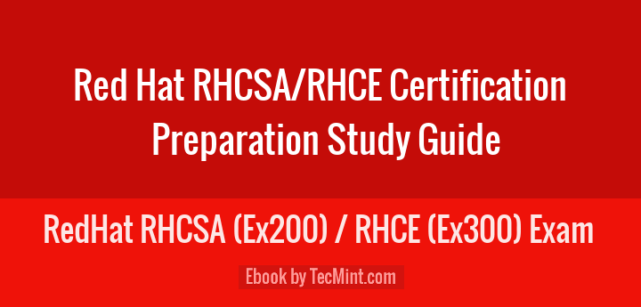 RedHat RHCSA & RHCE Exam eBook
