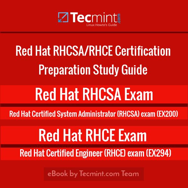 RedHat RHCSA and RHCE Certification eBook Based on RHEL 8