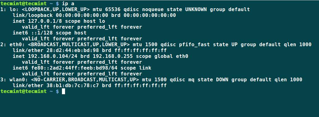 ip: Check IP Address