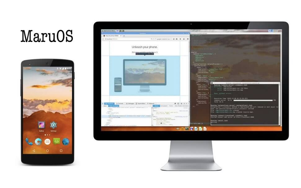 Maru OS Android Linux