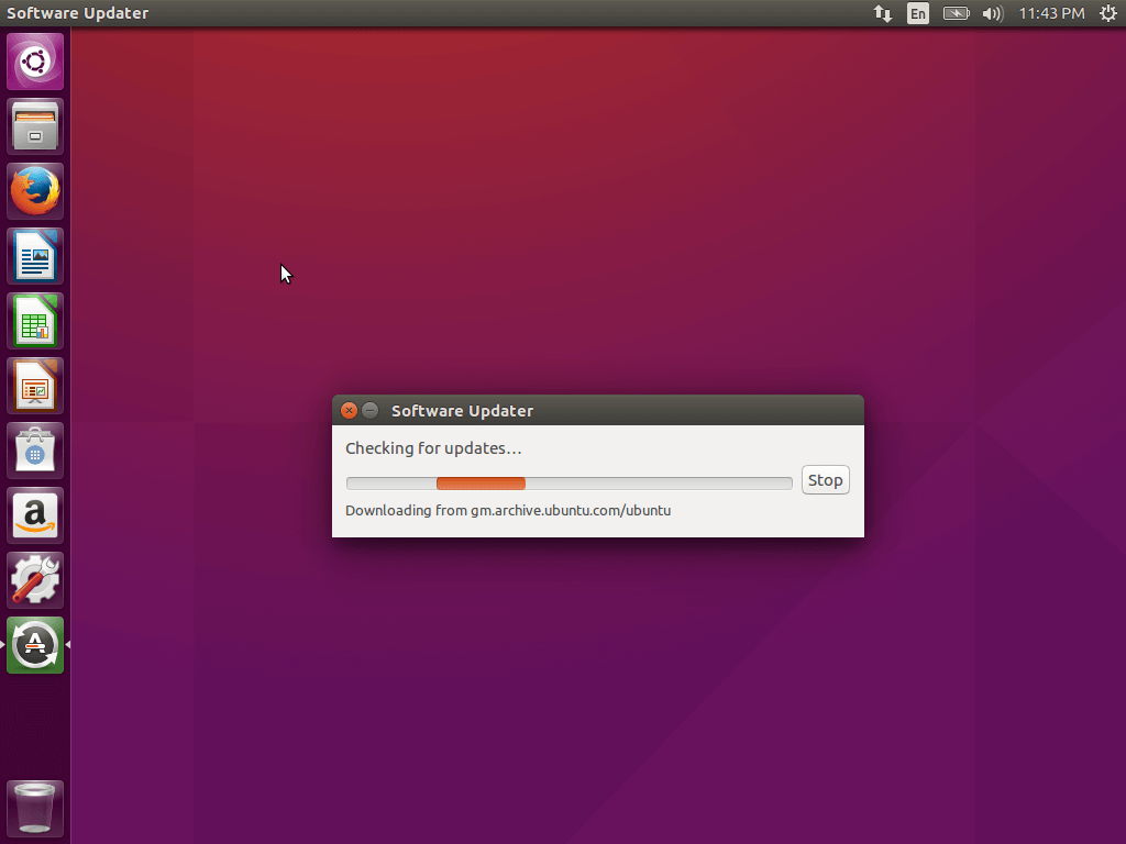 Checking for Ubuntu Updates