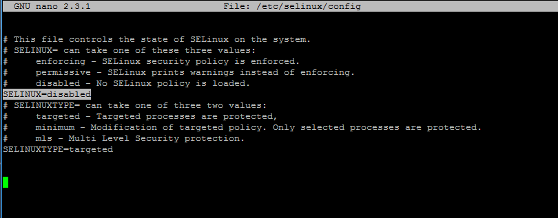 Disable SELinux in CentOS and RHEL