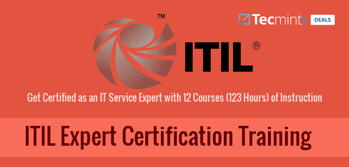 Deal: Become a IT Service Expert with ITIL Certification Training ...