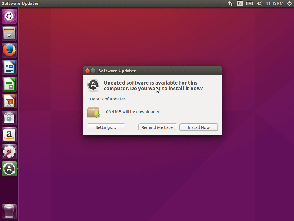 Install Ubuntu Software Updates