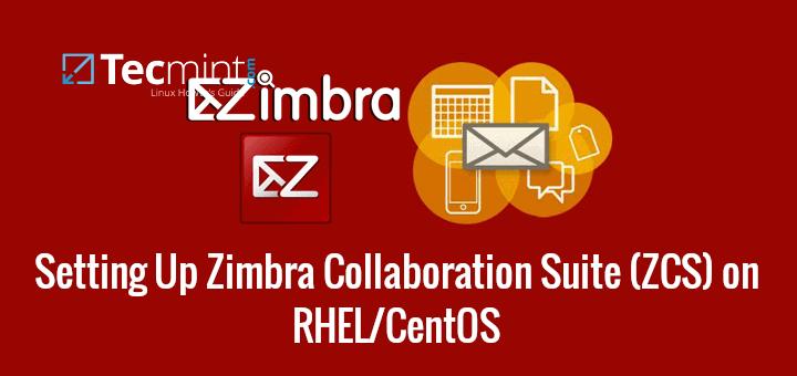 Install Zimbra on CentOS and RHEL-Server