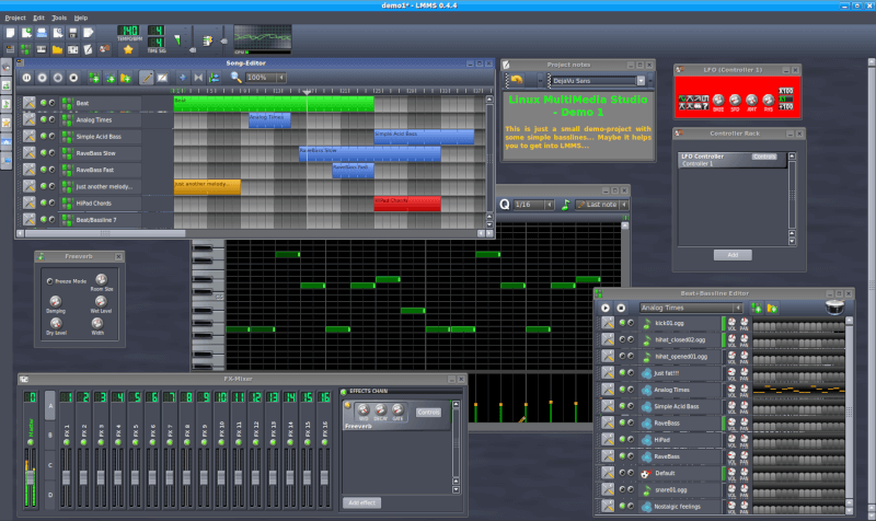 15 Best Open Source Music Making Software for Linux