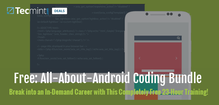Learn Android App Programming For Free