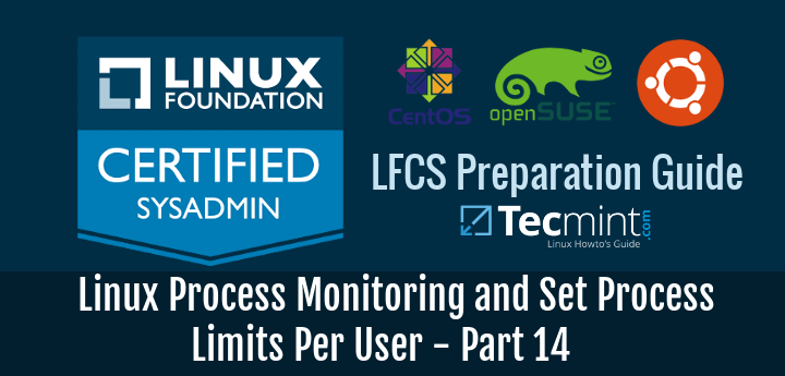 Linux Process Monitoring and Set Process Limits Per User