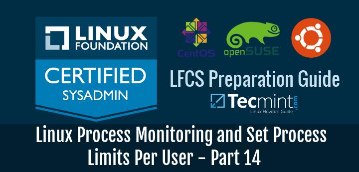 Linux Process Monitoring and Set Process Limits Per User