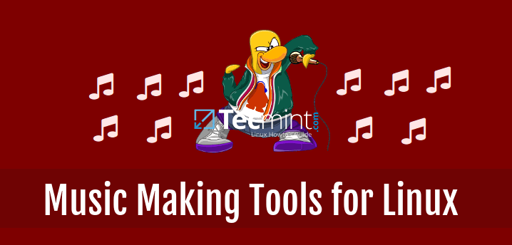 Music Making Linux Tools