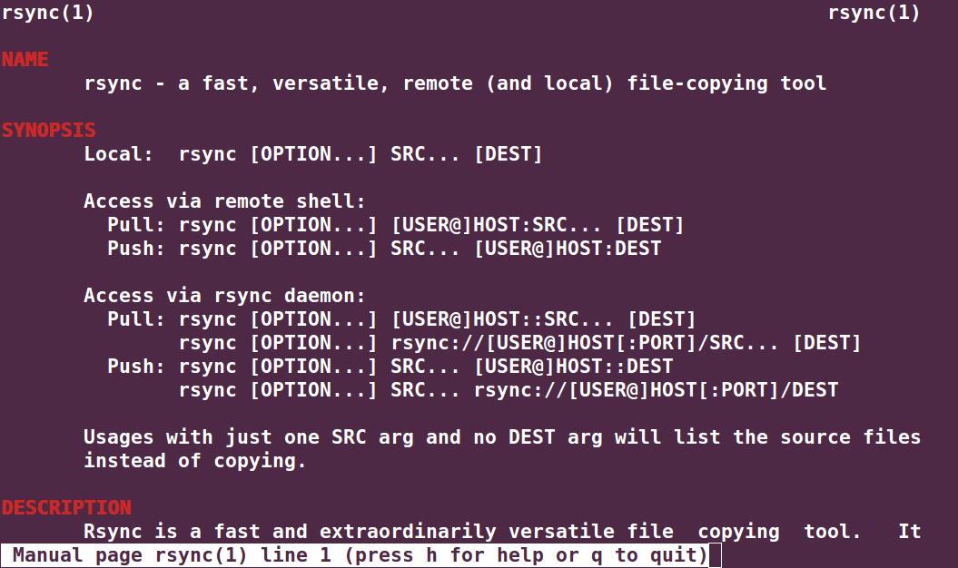 Rsync Backup Tool