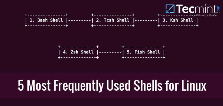 5 Most Frequently Used Open Source Shells for Linux