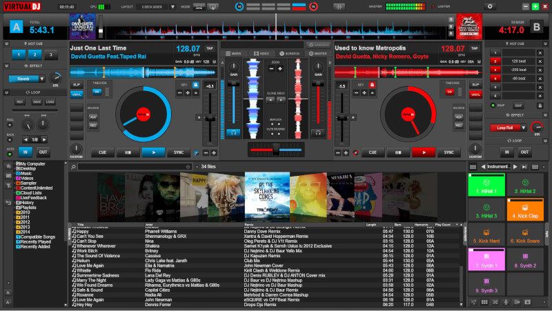 Virtual DJ - MP3 and Video Mix Software