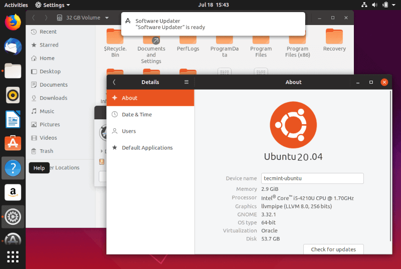 Access Windows Partition from Ubuntu