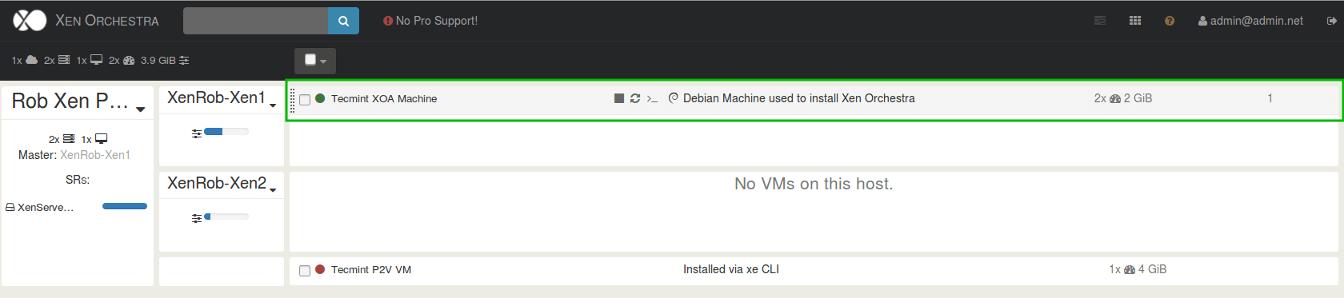 Configure XenServer Host Settings in Xen Orchestra