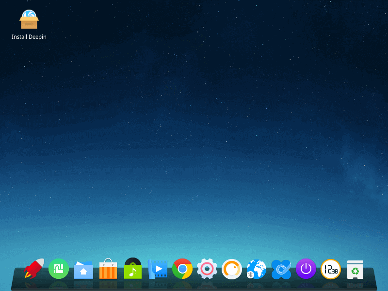 Deepin Desktop