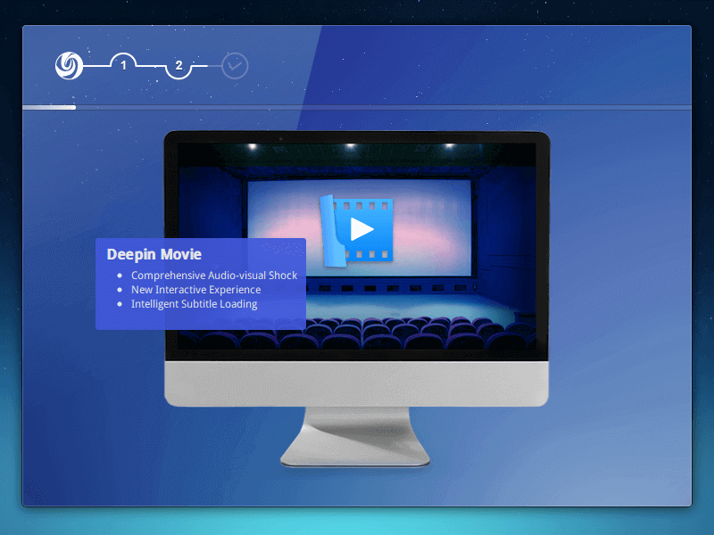 Deepin OS Movie