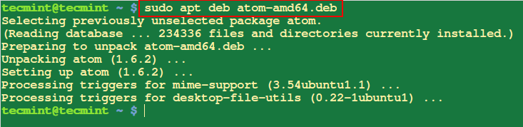 Install Deb Package