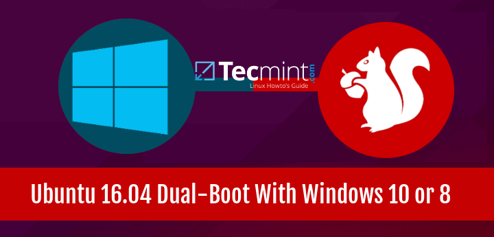Install Ubuntu 16.04 with Windows 10 or 8 Dual-Boot