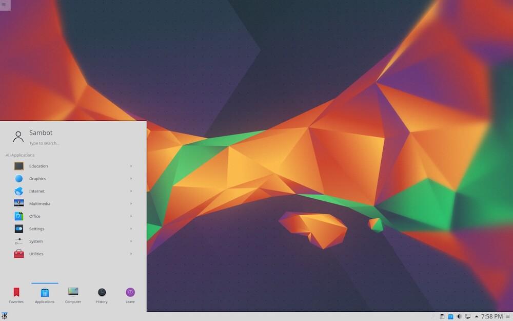 Kubuntu - A Ubuntu-based Linux OS