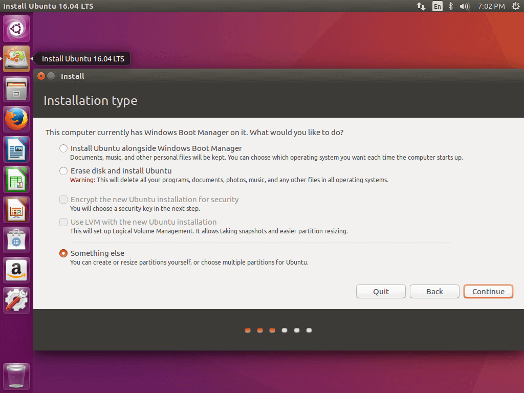 How To Install Ubuntu 16 10 16 04 Alongside With Windows