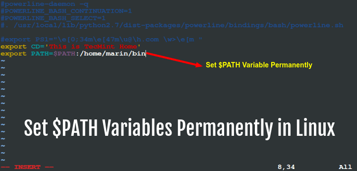 Set PATH Variables Permanently in Linux