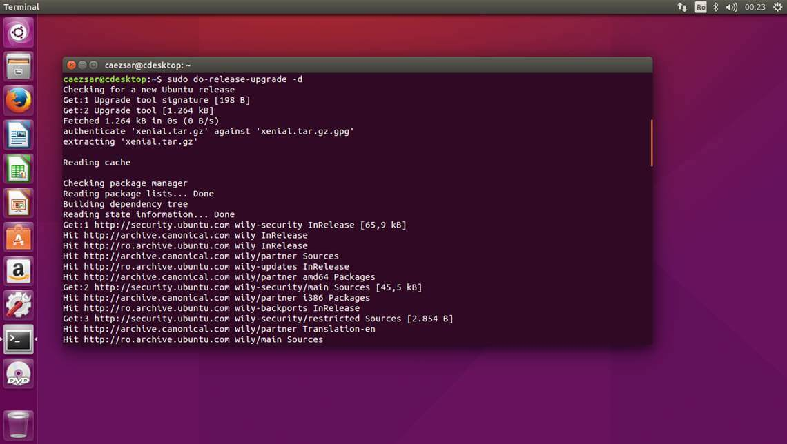 Ubuntu Release Upgrade