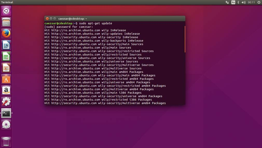Update Ubuntu 15.10 Packages