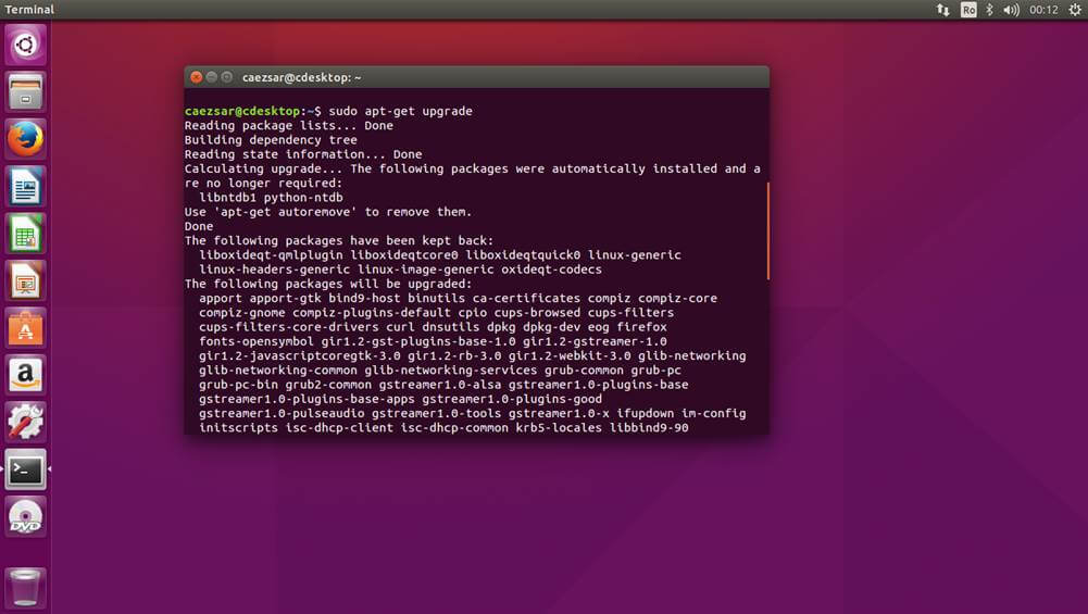 Upgrade Ubuntu 15.10
