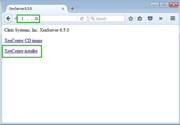 XenCenter Installer