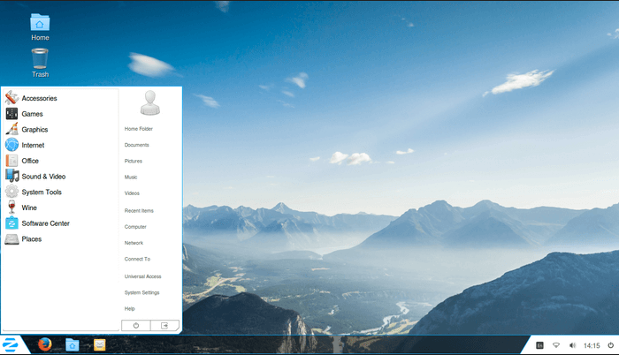Zorin OS - an Ubuntu-based OS designed for Windows Users
