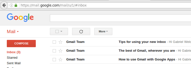 Google Apps Gmail Account