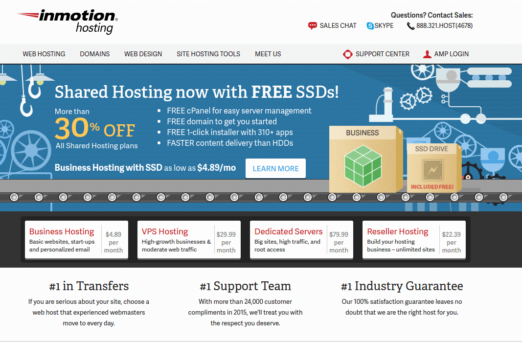Inmotion Hosting for Linux