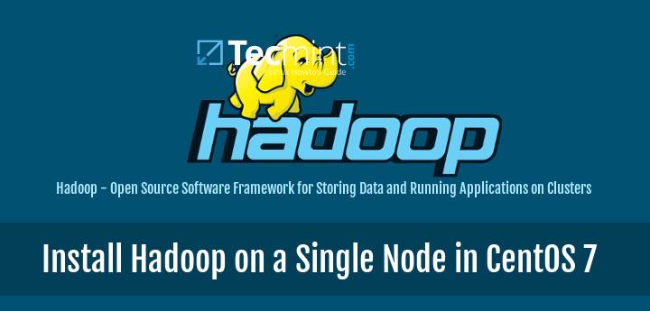 Install Hadoop in CentOS 7