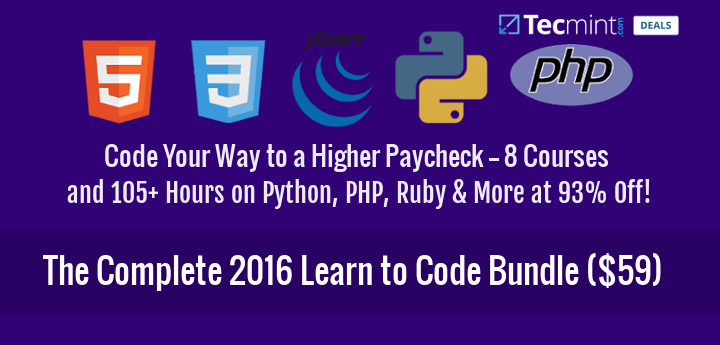 Get Complete Learn to Code Bundle 2016