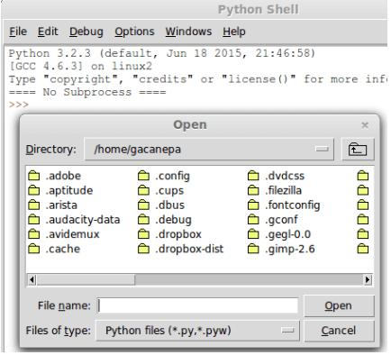 Python Shell