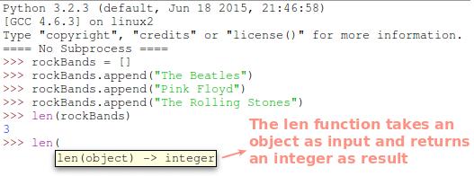 Python len Function