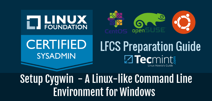 Run Linux Commands in Windows Using Cygwin