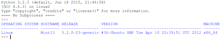 Script to Check Linux System Information