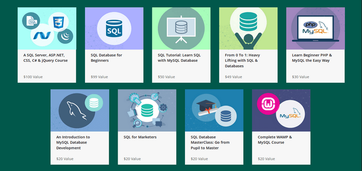 9-Course Ultimate SQL Bootcamp Program